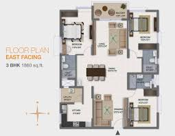100 3bhk plan sobha square sobha limited kogilu cross