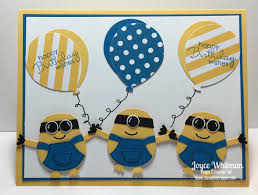 mark u0027s minion birthday card stampin scrapper