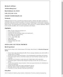 resume template entry level engineering resume electrical engineer resume sle new professional entry level