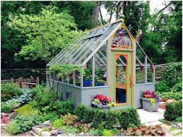 small backyard greenhouse kits home outdoor decoration