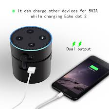echo dot external batteries itorrent portable charger 10000mah