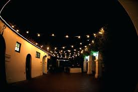hanging outdoor string lights outdoor clear hanging garden string light patio string lights 10