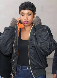 Jennifer Hudson Short Hairstyles Jennifer Hudson Promotes New Album In The Uk Daily Mail Online