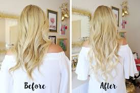 Before After Hair Extensions by Q U0026a How I Use My Bellami Hair Extensions Cort In Session