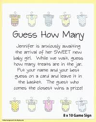 guess how many candies baby shower game guess how many