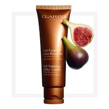 self tanning milky lotion body clarins