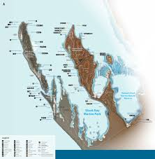 Mia Airport Map Map Of Shark Bay U0026 Monkey Mia Region Shark Bay Tourism Association