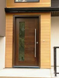 Exterior Doors Wooden Trends Of Contemporary Exterior Doors Door Stair