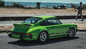 porsche dark green 1974 porsche 911 carrera 2 7 is lime green dream for rm monterey 2015
