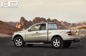 mercedes pickup truck mercedes benz h class ascariss design