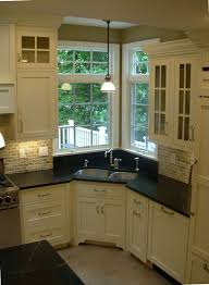 corner kitchen sink ideas appealing kitchen corner sinks and corner kitchen sink design