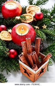 Traditional Christmas Decor Cinnamon Sticks Christmas Decoration Stock Photos U0026 Cinnamon