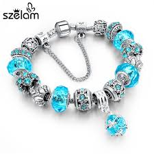 diy crystal bead bracelet images Szelam hot selling 2018 diy crystal beads bracelets bangles jpg