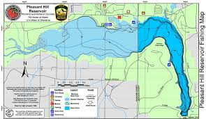 lake pleasant map pleasant hill reservoir