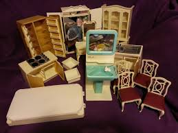 huge vintage sindy house furniture lot very rare china