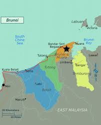 World Regions Map by Large Regions Map Of Brunei Brunei Asia Mapsland Maps Of