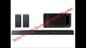 harga speaker home theater sony ht rt3 soundbar home theater complete review youtube