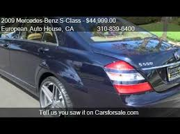 mercedes s550 sale 2009 mercedes s class s550 for sale in los angeles c