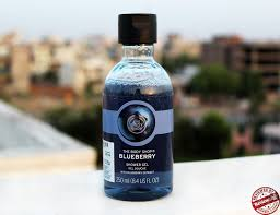 the body shop blueberry shower gel review