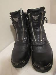 harley davidson s boots size 11 harley davidson 039 s brake light black leather motorcycle