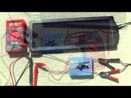 12 volt fan harbor freight harbor freight 1 5 watt solar battery charger youtube