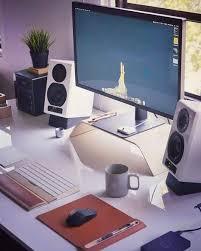 Leda Computer Desk 104 Best Desk Images On Pinterest Computer Setup Gaming Rooms