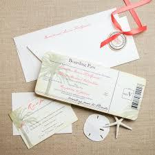 boarding pass wedding invitations vintage boarding pass wedding invitations chic shab