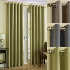 readymade curtains byron herringbone thermal blockout eyelet