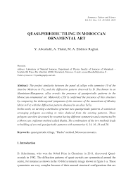 quasi periodic pattern definition quasi periodic tiling in moroccan pdf download available