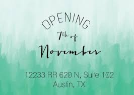 new store location opening november 7th