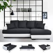 canapé lit tissu canapé d angle droit canapé lit convertible avec coffre en tissu