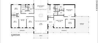 One Story Open House Plans Bedroom One Story Open Floor Plan 5 Bedroom House With Pool One