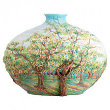 Franz Vase Van Gogh White Orchard Vase Franz Collection Online Shop Europe