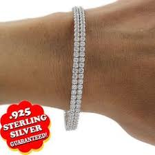 s day bracelets 14kt white gold diamond chain link magnificence bracelet