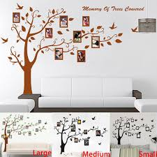 big size brownblack photo frame tree wall stickers zooyoo94ab big size brown black photo frame tree wall stickers zooyoo94ab quotes wall arts home decorations bedroom wall decals 2 5