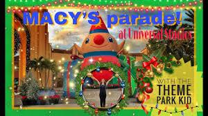 new 2017 macy s day parade universal studios orlando happy