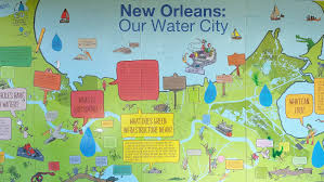 New Orleans City Map by Nolawater