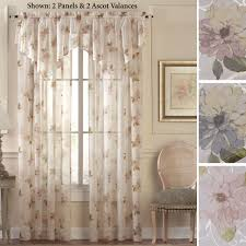 Unique Window Treatments Unique Curtains Elegant Curtains Designs With Floral Patterns