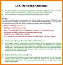 sample operating agreements hitecauto us