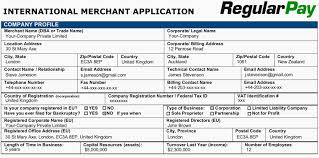 step by step guide for opening merchant account on regularpay