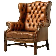 Winged Chairs Design Ideas Leather Wingback Chair U2013 New Synth