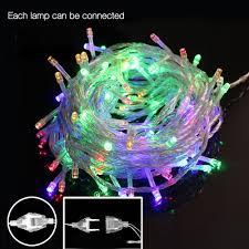 led christmas tree lights ac 110v 220v 10m 50leds outdoor led string lights fairy christmas