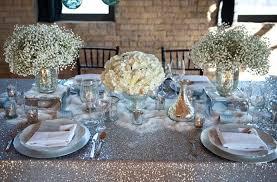 silver centerpieces wedding flowers centerpieces silver decor