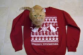 meowy christmas sweater meowy christmas christmas sweater cat lover gift