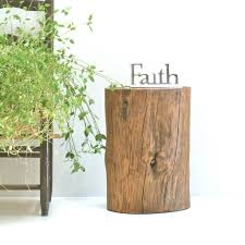 tree trunk bedside table side table trunk side tables tree stump coffee table with drawers
