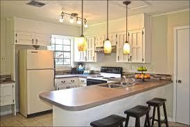 kitchen design modern small kitchen showing three fixture track