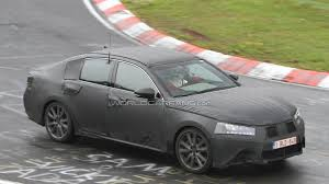 lexus sedan 2012 2012 lexus gs prototype spied for the first time