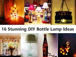 Blue Bottle Chandelier by 16 Stunning Diy Bottle Lamp Ideas Jpg