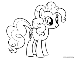 free printable pony coloring pages kids cool2bkids