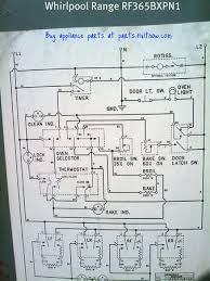 whirlpool range model rf365bxpn1 wiring diagram fixitnow com